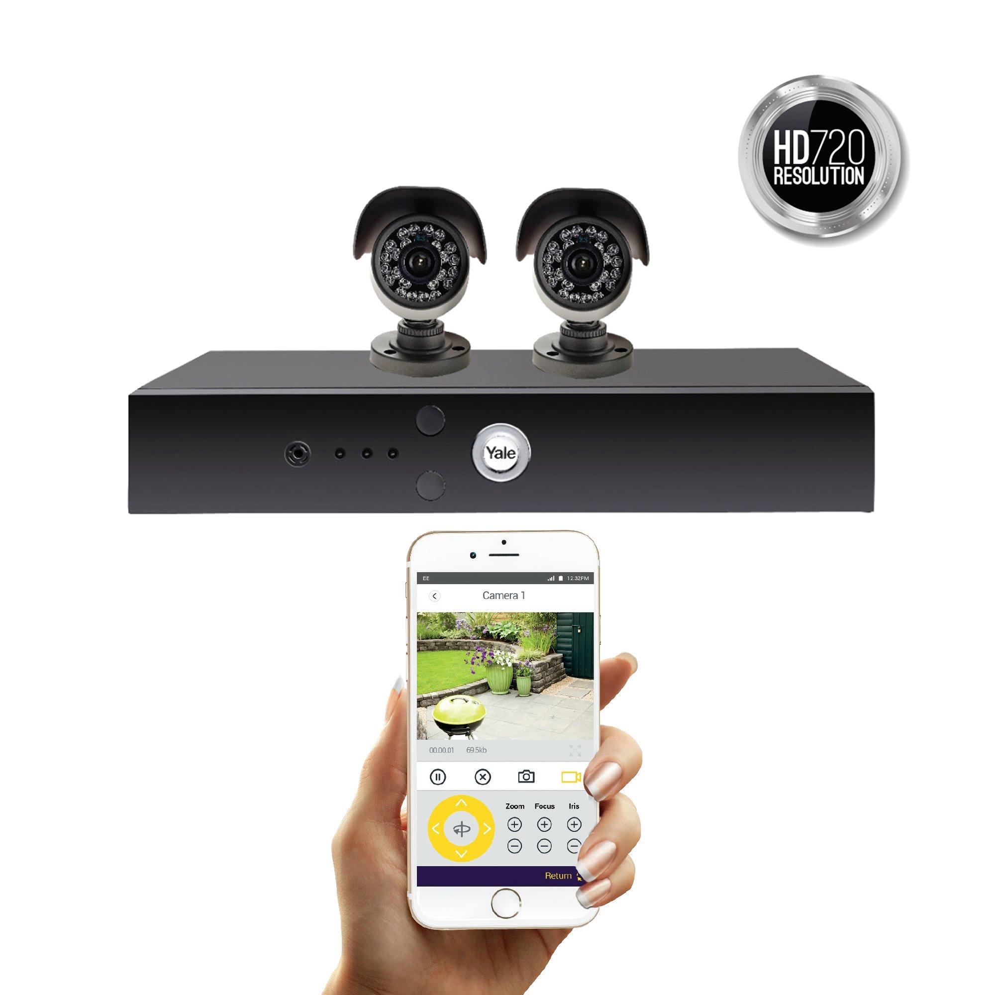 Smart HD720 CCTV System - 2 Camera