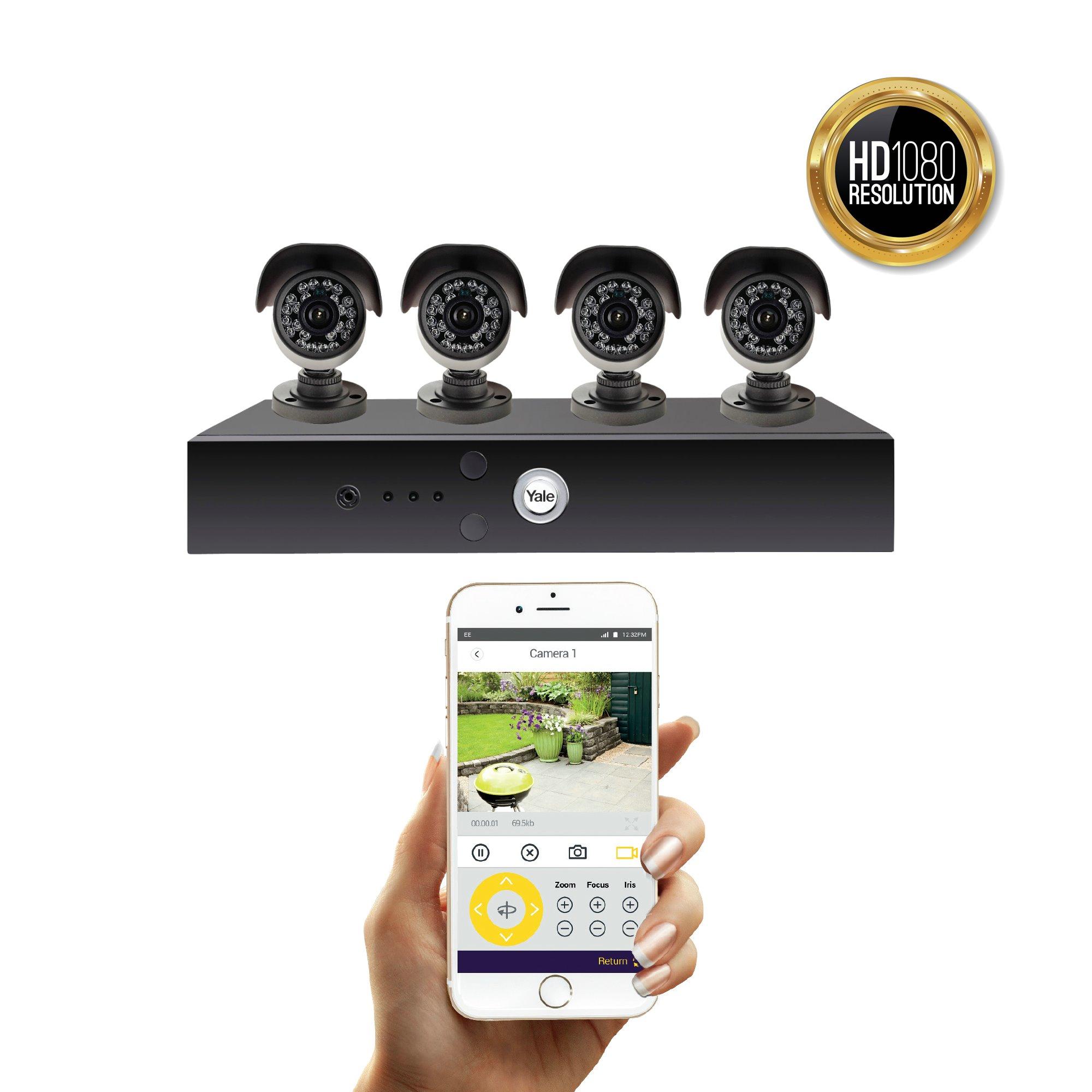 Smart HD1080 CCTV system - 4 Camera