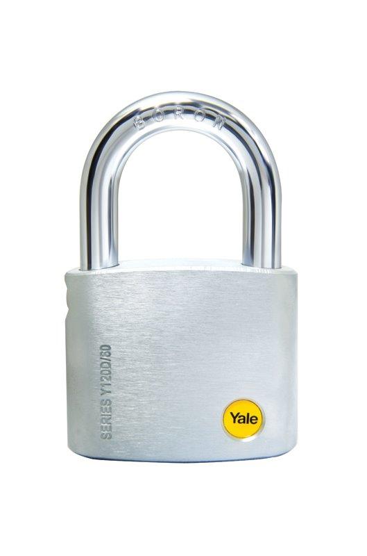 Y120D Silver Series Brass Padlock Dimple Key