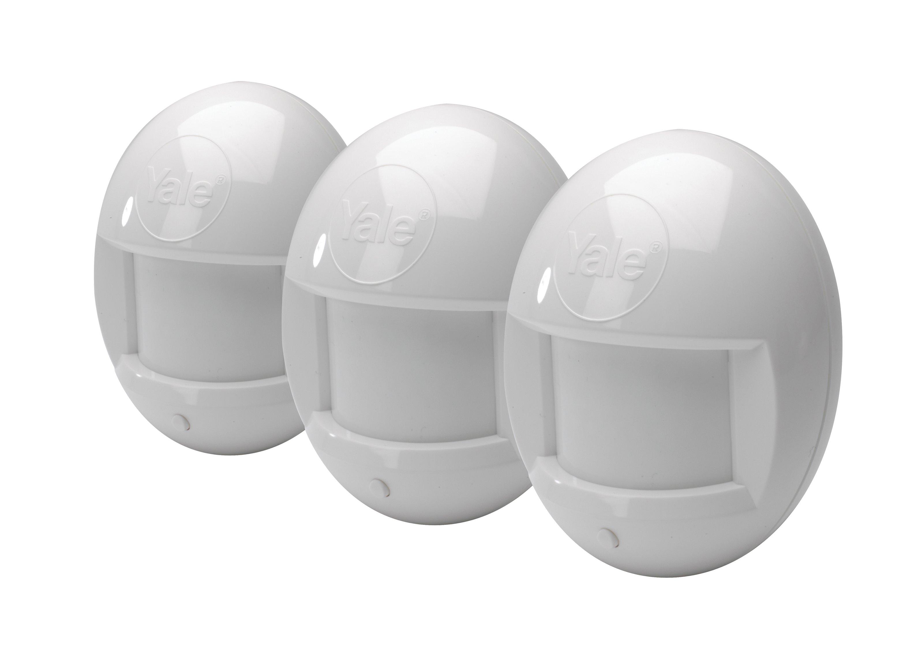 PIR rörelsedetector 3-pack