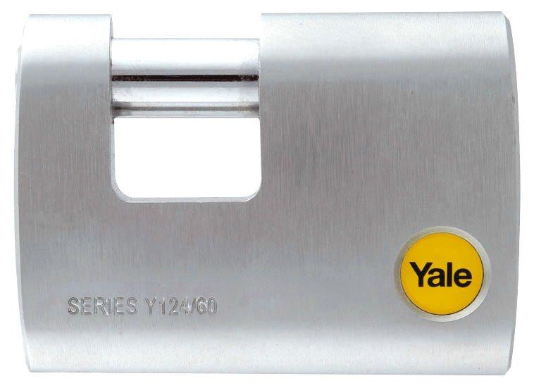 Yale 60 mm DMU Krom Kaplamalı Kayar Pimli Asma Kilit