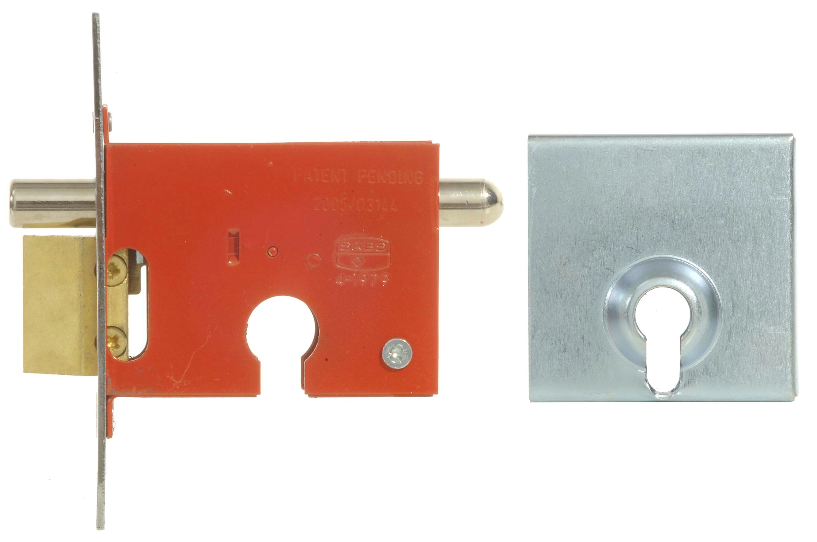 Euro Profile Security Gate Lock & Euro Cylinder