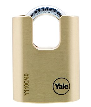 40mm Closed Shackle Brass Padlock