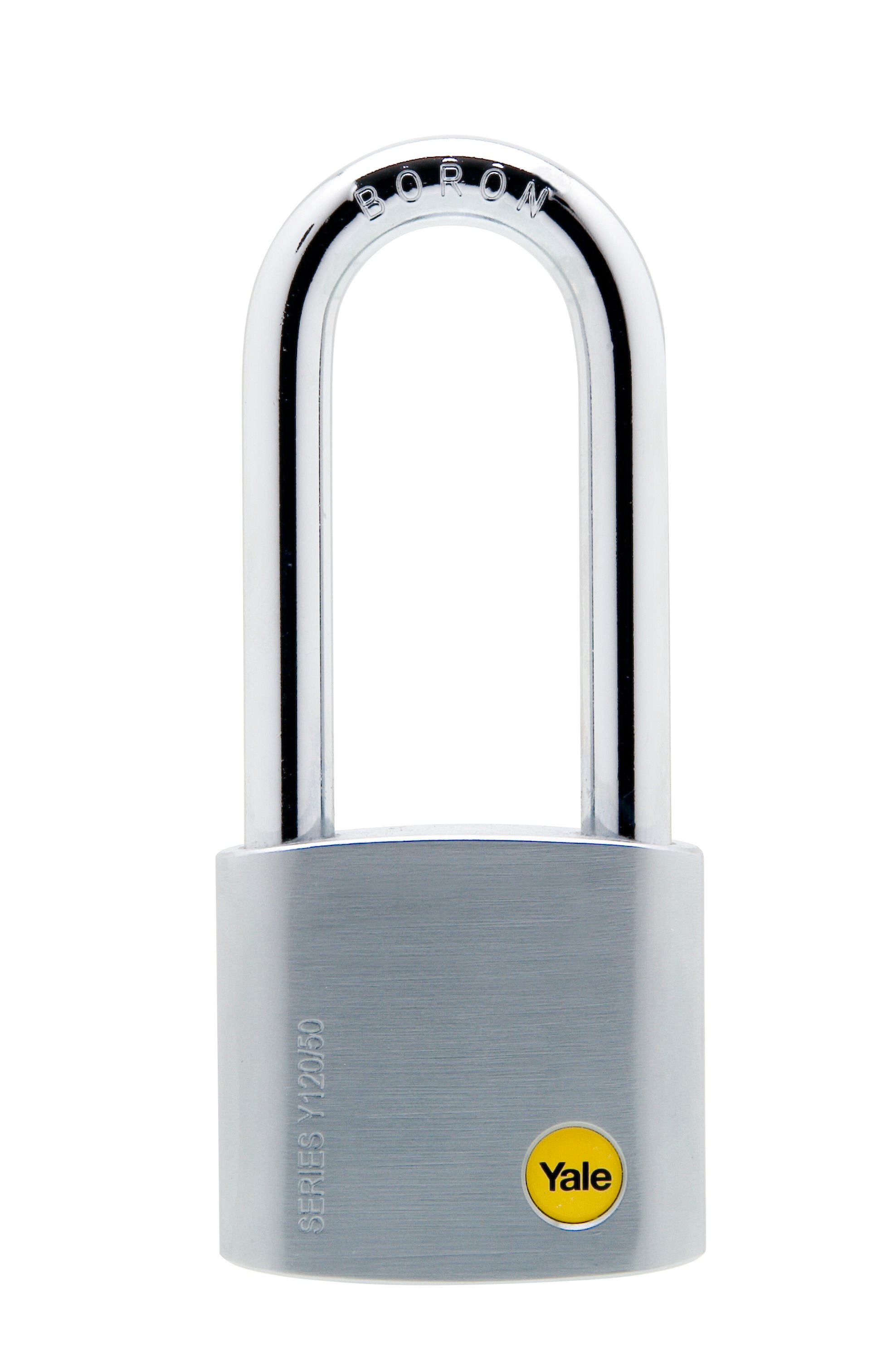 50mm Long Shackle Satin Chrome Padlock