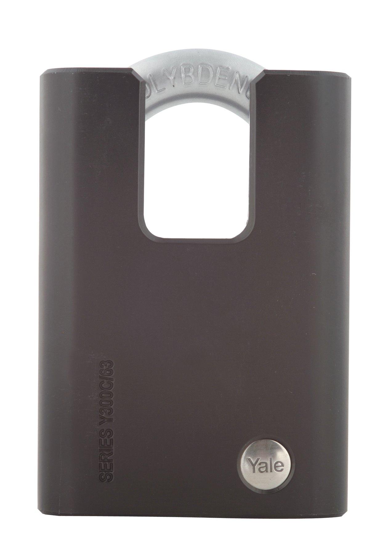 Hänglås Maximum i härdat stål dold bygel - Y300C