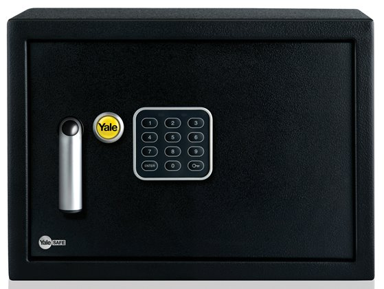 ysv 200 db1 yale home electronic safe box small. Black Bedroom Furniture Sets. Home Design Ideas