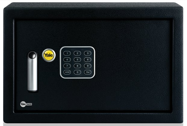 ysv 250 db1 yale home electronic safe box medium. Black Bedroom Furniture Sets. Home Design Ideas