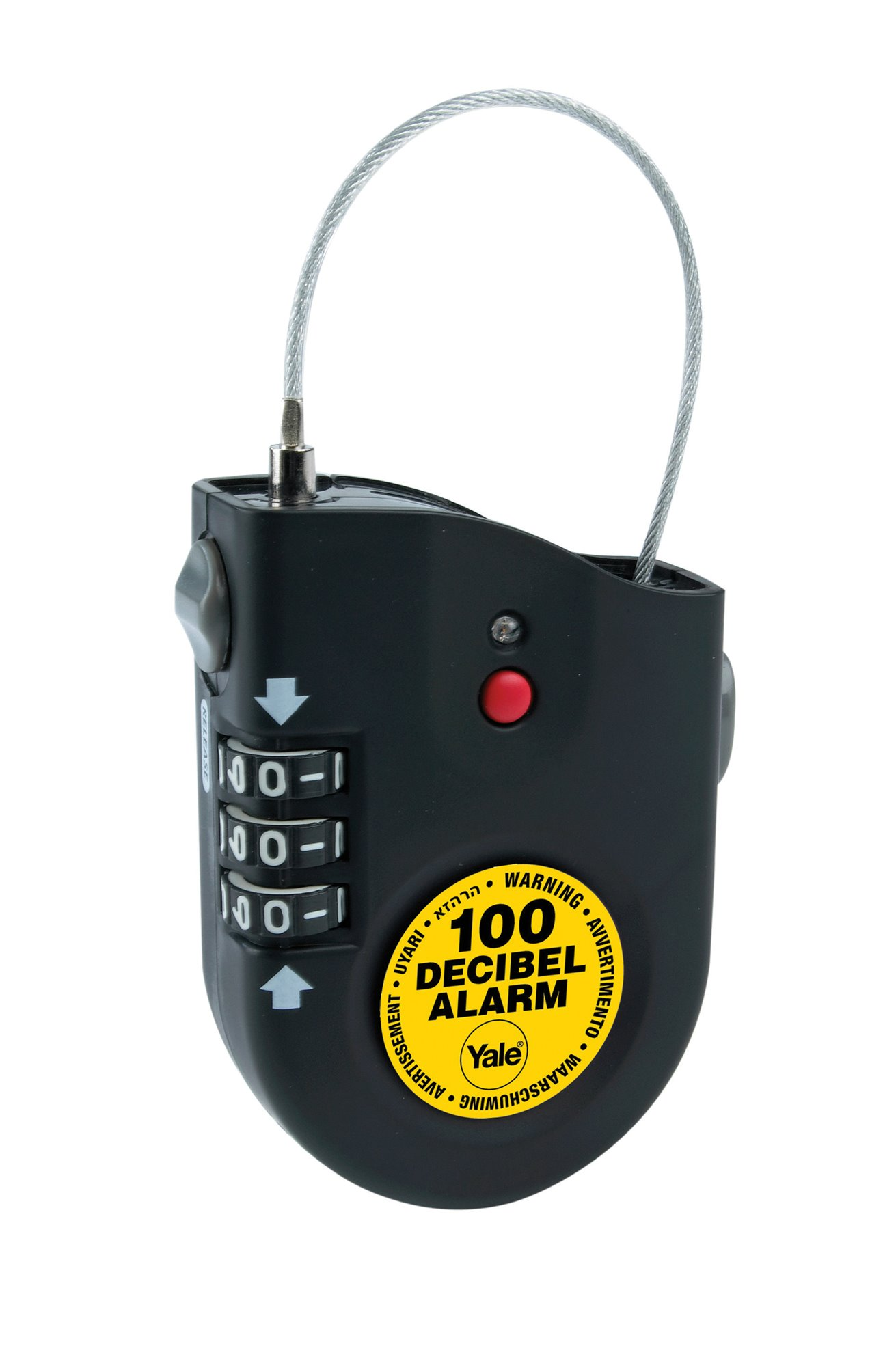 Ycl1 2 Alarm Lock Alarm Mini Bike Locks Yale Lock